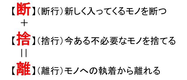 断捨離→モノ増える→断捨離を繰り返してる方