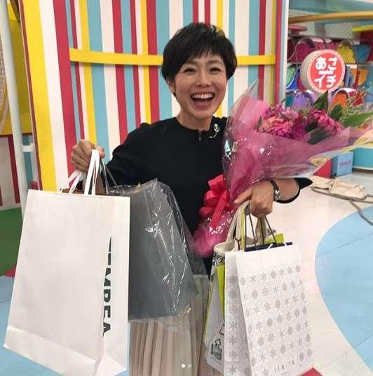 有働由美子アナ、誕生日のお祝いに感激「オバちゃんになってみるもんですわ」
