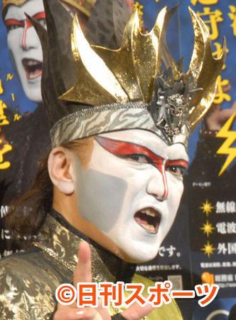 デーモン閣下、NHKアニメで肖像の無断使用に怒り