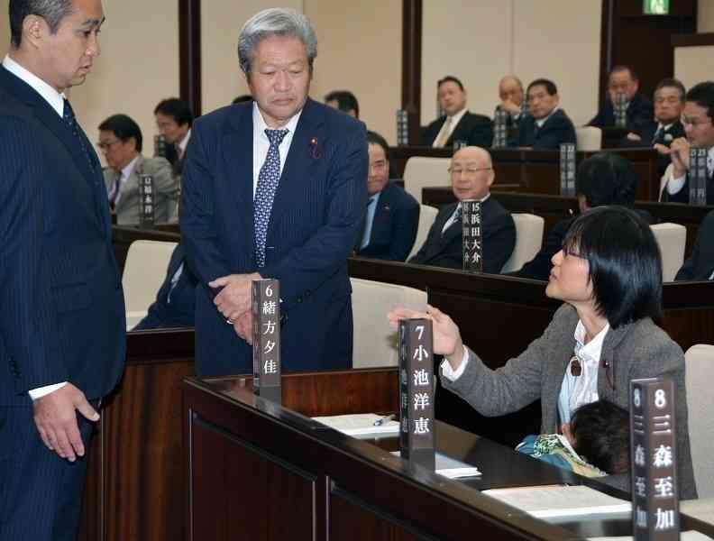 議場に乳児問題、異例のスピード対応 熊本市議会、4カ月で規則を改正 (西日本新聞) - Yahoo!ニュース