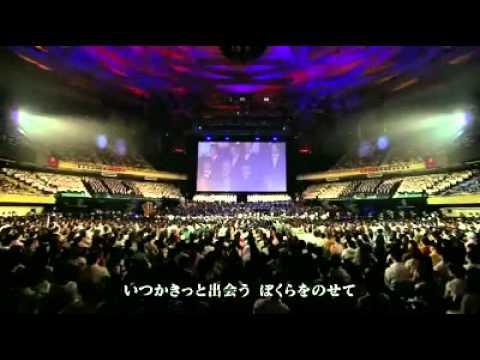 久石讓 君をのせて 800人大合唱in 武道館 - YouTube