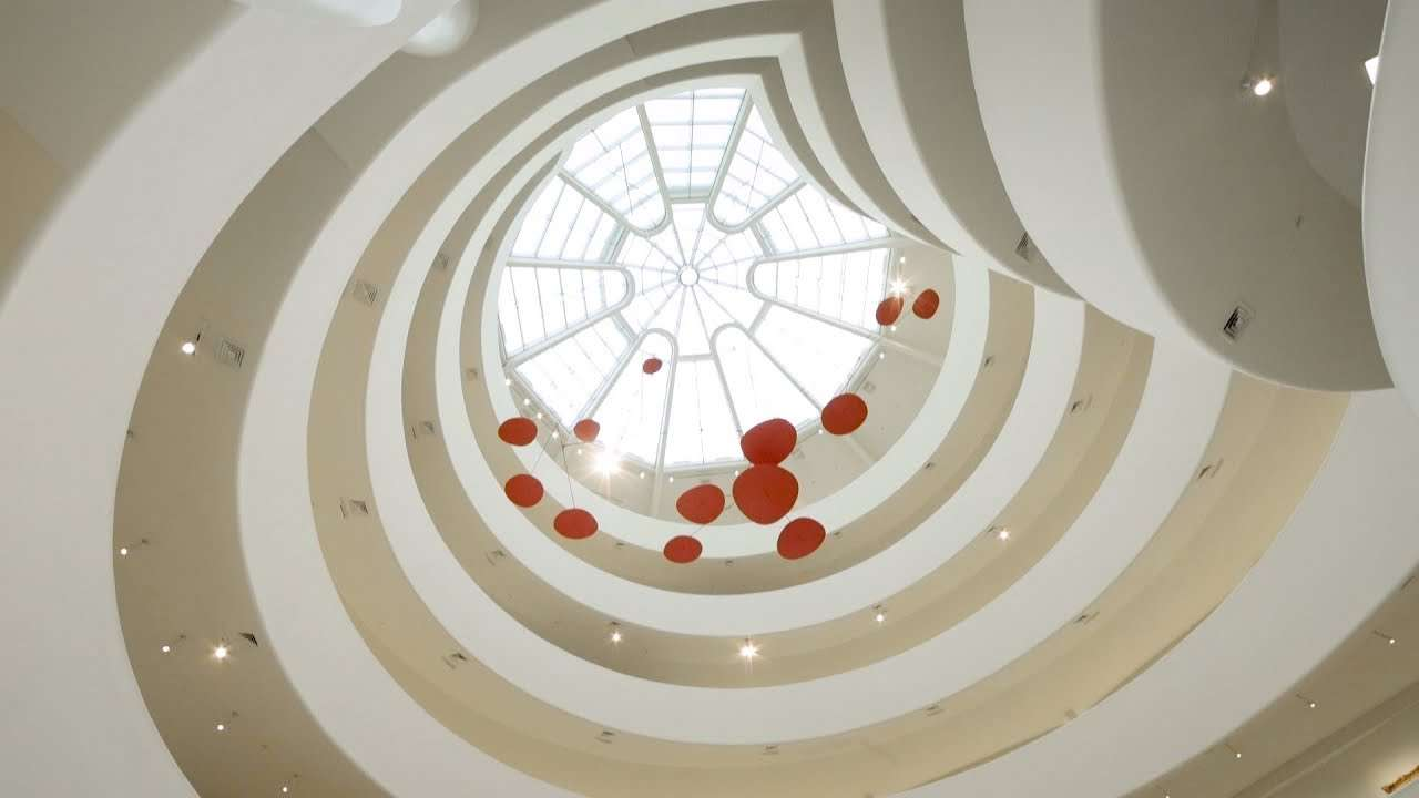 "Installing Alexander Calder's ""Red Lily Pads"" - YouTube"