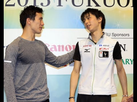 羽生結弦選手と海外スケーターのオフショットがかわいいと話題に!~Yuzuru Hanyu~ - YouTube