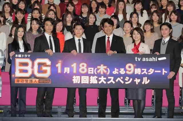木村拓哉主演「BG~身辺警護人~」第7話は15・8% 番組最高を更新