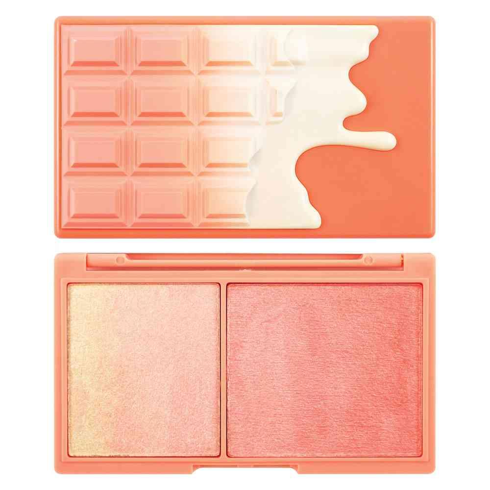 ミニチョコレート ハイライター ピーチ&グロー 新着商品 Makeup Revolution