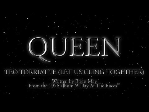 Queen - Teo Torriatte (Let Us Cling Together) - (Official Lyric Video) - YouTube