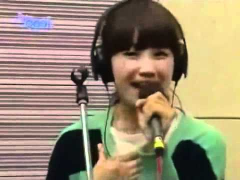 110506 Eunji(APink) I Love You I Do(jennifer hudson) @Kiss The Radio - YouTube
