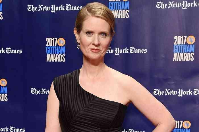 「SATC」ミランダ役のシンシア・ニクソン、NY州知事に立候補 女性初・同性婚者初となるか