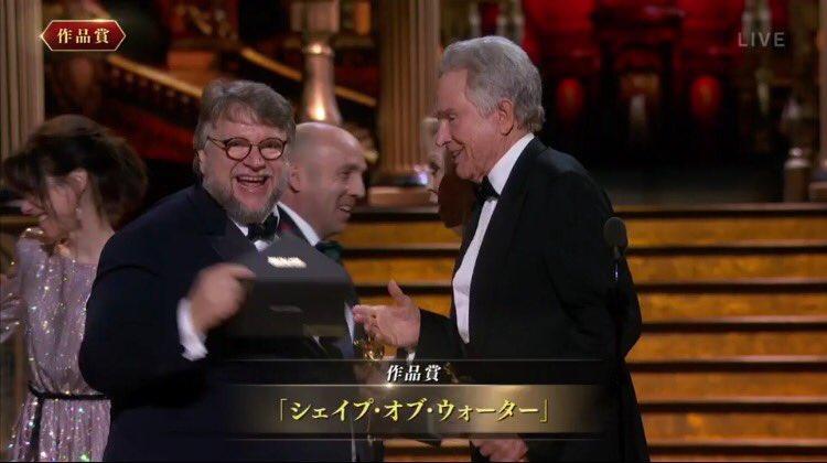 【第90回アカデミー賞】作品賞は『シェイプ・オブ・ウォーター』!最多4冠を達成