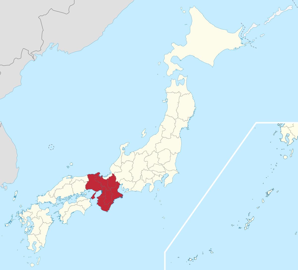 近畿地方 - Wikipedia