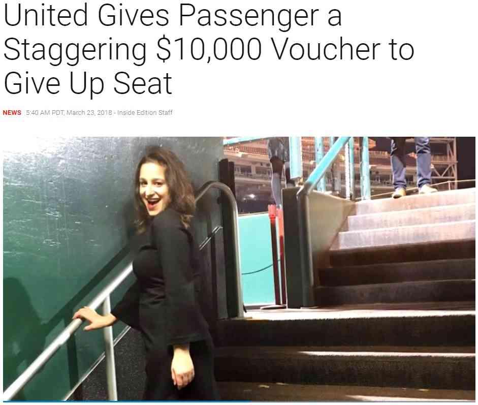 【海外発!Breaking News】ユナイテッド航空、オーバーブッキングで席を諦めた乗客に100万円の旅行券渡す(米) | Techinsight(テックインサイト)|海外セレブ、国内エンタメのオンリーワンをお届けするニュースサイト
