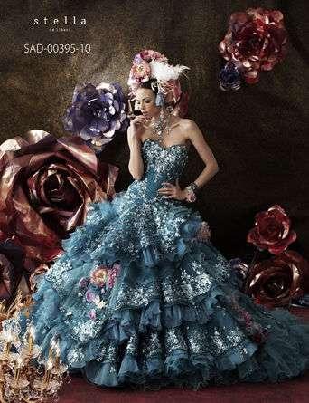 ウエディングカラードレス 一度は着てみて!ステラ・デ・リベロ - NAVER まとめ