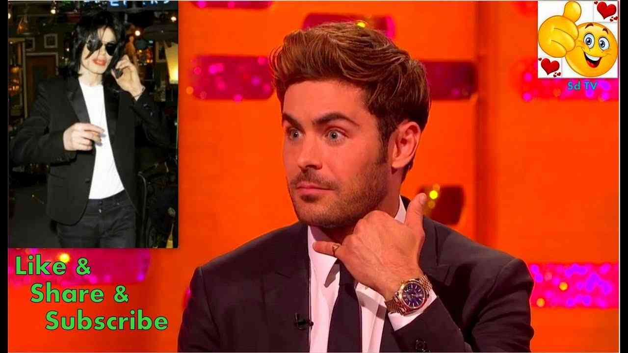 Zac Efron Made Michael Jackson Cry ! - Graham Norton Show - YouTube