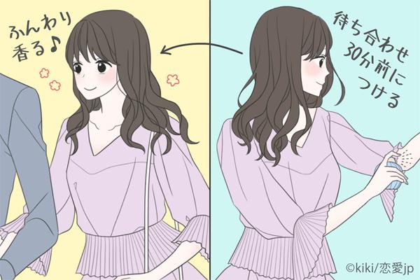 デート前に試してみて♡女の色気が増す「香水のつけ方」講座     恋愛jp