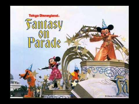 ディズニー・ファンタジー・オン・パレード - YouTube