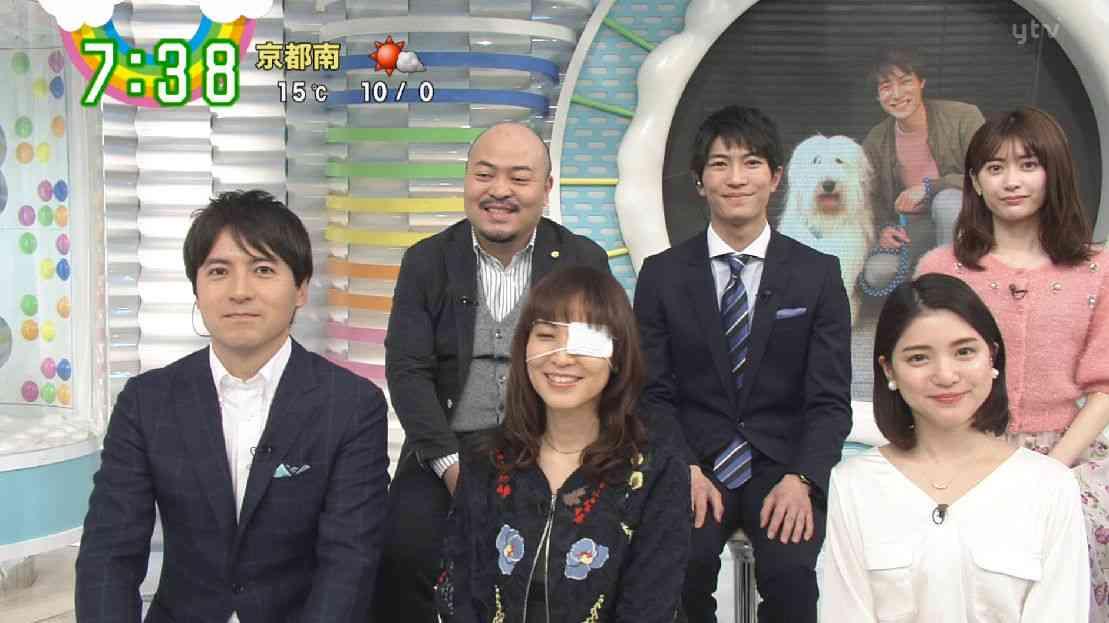 鈴木杏樹 眼帯姿でZIP!出演「まぶたに腫瘍ができて切除」