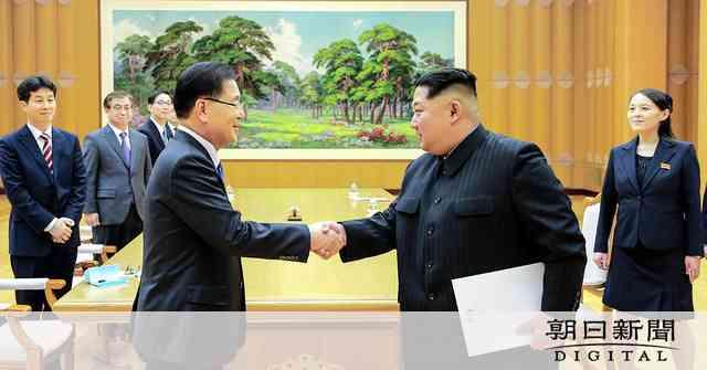 韓国と北朝鮮、4月末に首脳会談 「米と対話用意」表明:朝日新聞デジタル
