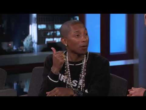 Pharrell Williams on his call with Michael jackson - YouTube