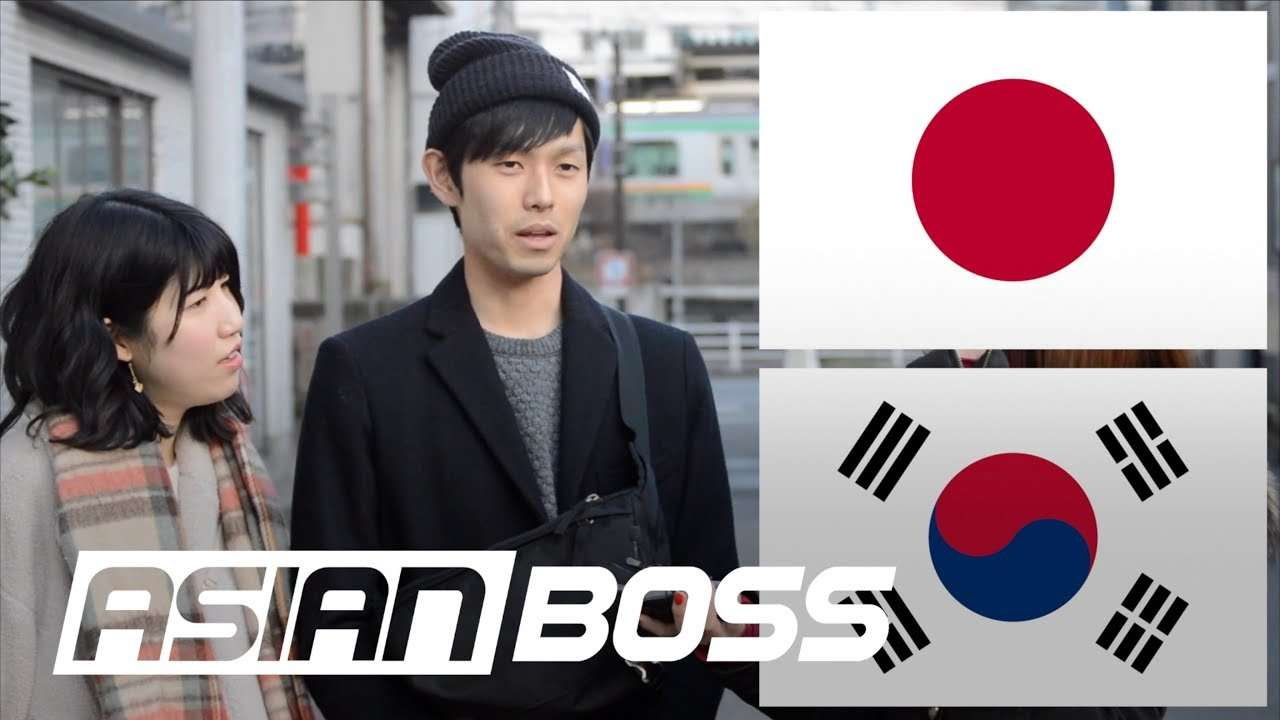 How Do The Japanese Feel About South Korea (Part 1) | ASIAN BOSS - YouTube