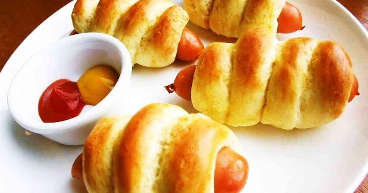 ⁂材料③HMで簡単ウインナーパン⁂ by ぢんぴよ 【クックパッド】 簡単おいしいみんなのレシピが286万品