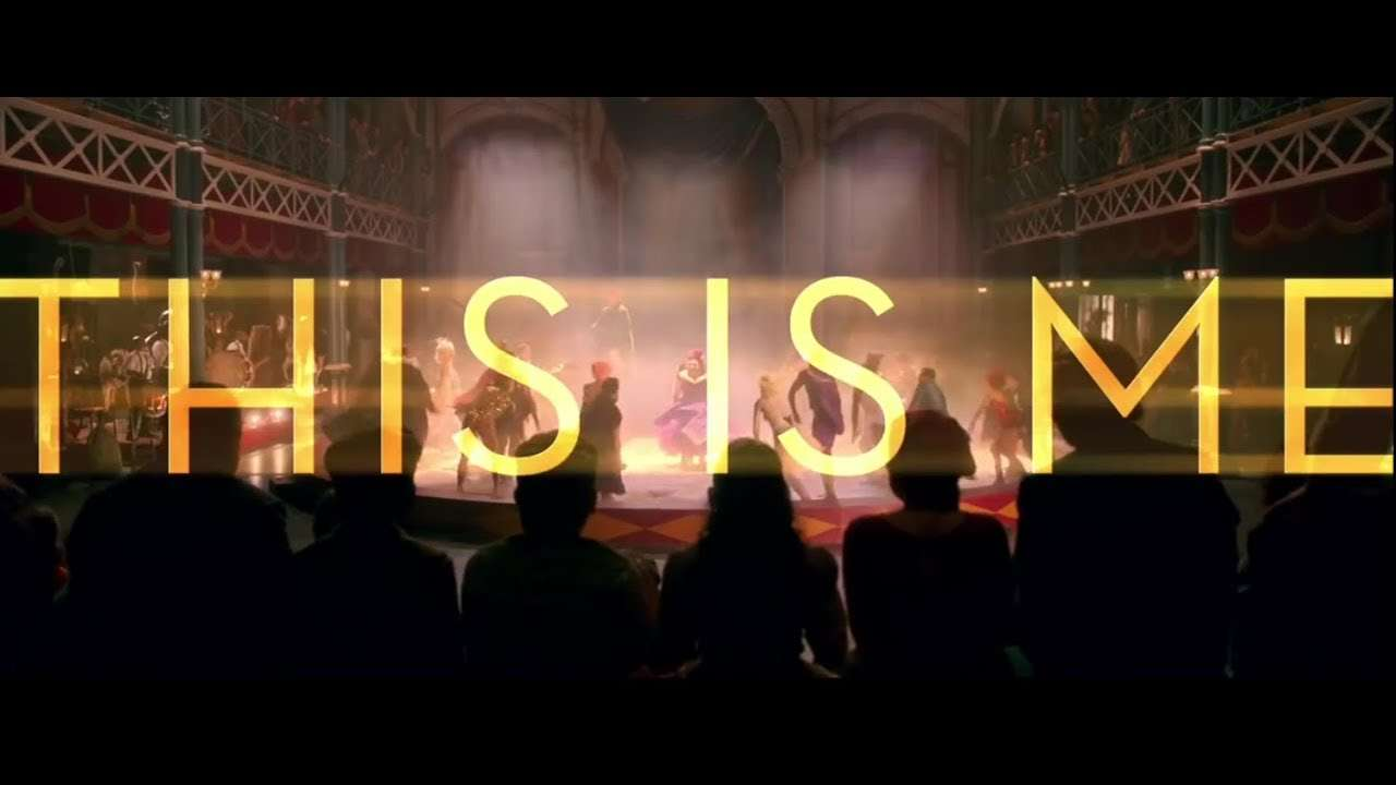The Greatest Showman - This Is Me [Official Lyric Video] - YouTube