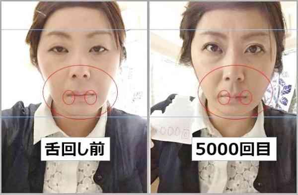 【検証】舌回し体操を1日で1万回やると、どれくらい小顔効果があるのか? - トゥギャッチ