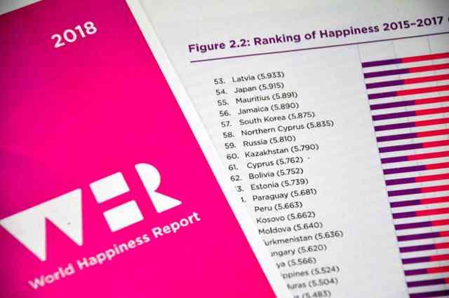 国連の幸福度調査、日本は54位 前年より三つ下げる - ライブドアニュース