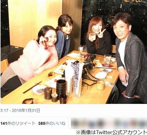 小倉優子に酔った高橋由美子が大説教「離婚はあなたの責任だよね?」