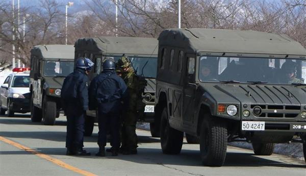 山形県警と陸自が共同実働訓練 - 産経ニュース