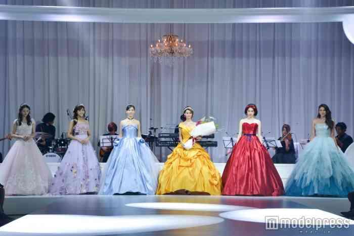 ディズニー公認のウエディングドレス発表 「美女と野獣」「シンデレラ」「白雪姫」など6作品がラインナップ