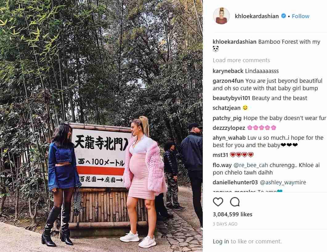 【イタすぎるセレブ達】クロエ・カーダシアン、赤ちゃんは「女の子」と発表 日本訪問への批判の声に反撃も | Techinsight(テックインサイト)|海外セレブ、国内エンタメのオンリーワンをお届けするニュースサイト
