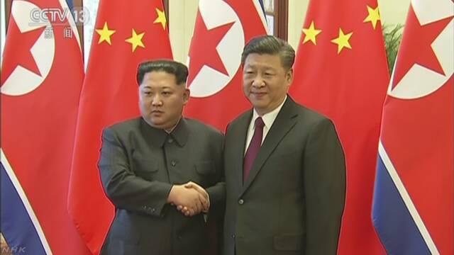訪中は北朝鮮キム委員長 習主席と初の首脳会談 新華社通信 | NHKニュース