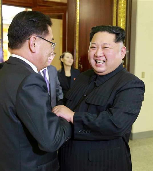 【南北会談】北が機先を制し「満足のいく合意」と公表 韓国特使団と金正恩氏初会談は4時間12分 - 産経ニュース
