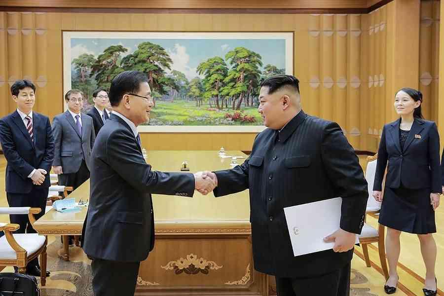 金委員長、南北首脳会談へ「満足のいく合意」 国営通信 (AFP=時事) - Yahoo!ニュース