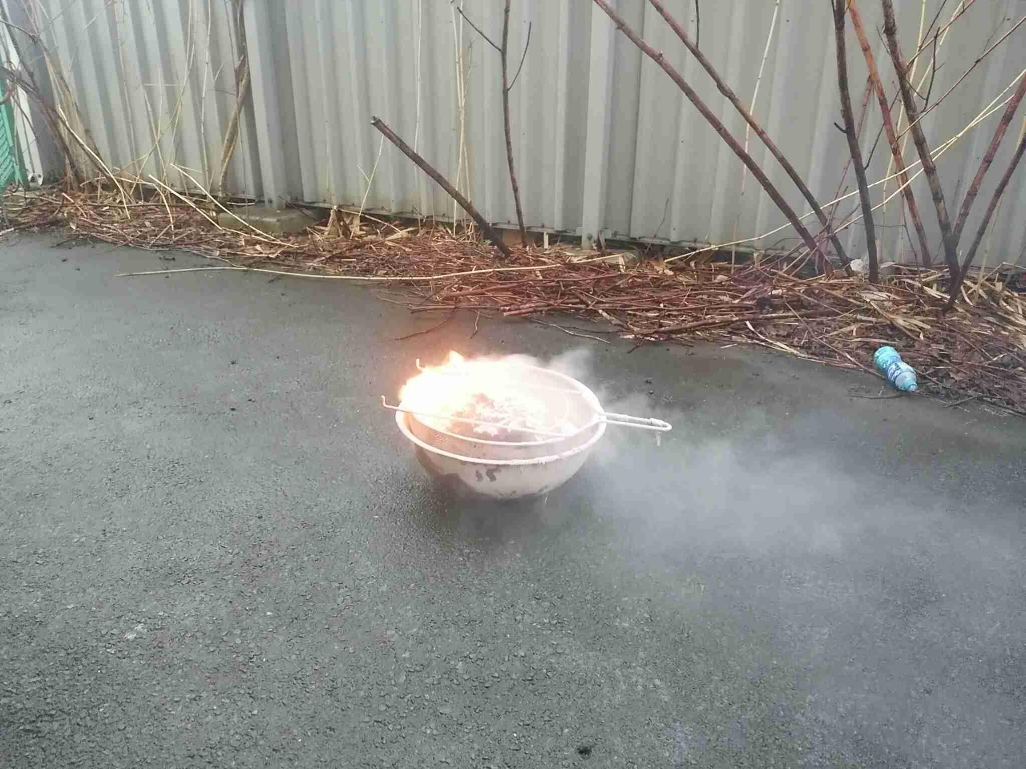 うどん店全焼、天かす自然発火か 消防「保管に注意を」
