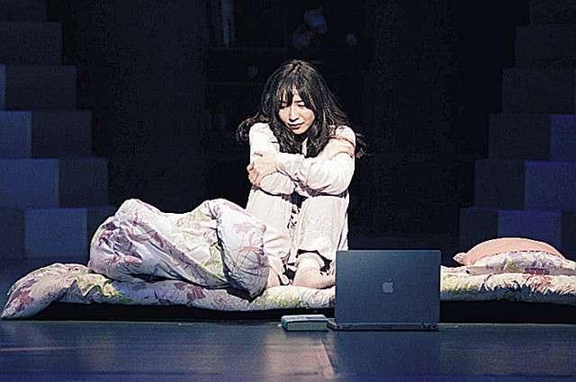 河西智美、ミュージカルで2時間半出ずっぱり! 引きこもり少女を熱演