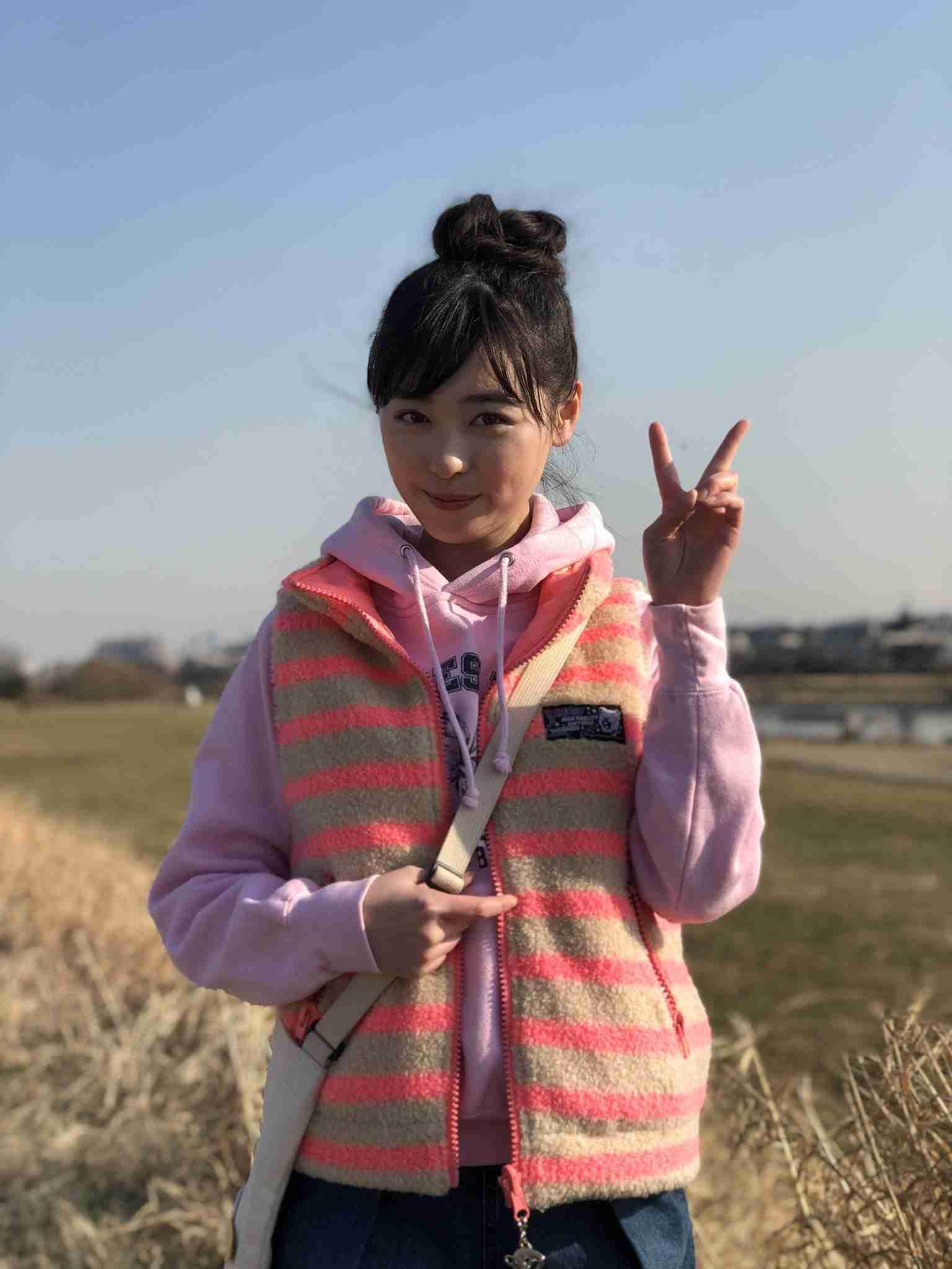 """""""まいんちゃん""""福原遥、念願の""""デートなう""""にファン悶絶"""