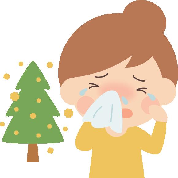 花粉の時期の肌荒れ対策