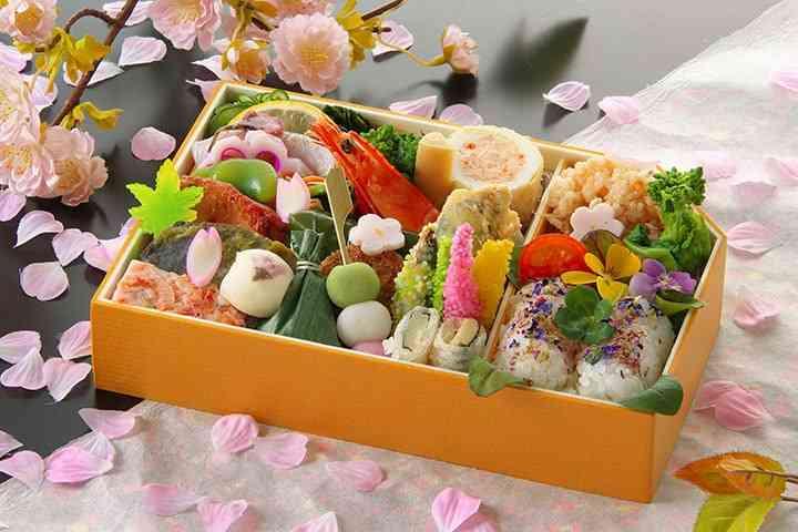 花見に持って行きたい弁当の画像