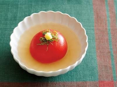 トマトのだしびたし レシピ 大庭 英子さん|【みんなのきょうの料理】おいしいレシピや献立を探そう