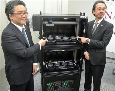 日立、「線虫」がん発見装置量産へ 尿を嗅ぎ分け、検査費1回数千円 - SankeiBiz(サンケイビズ)