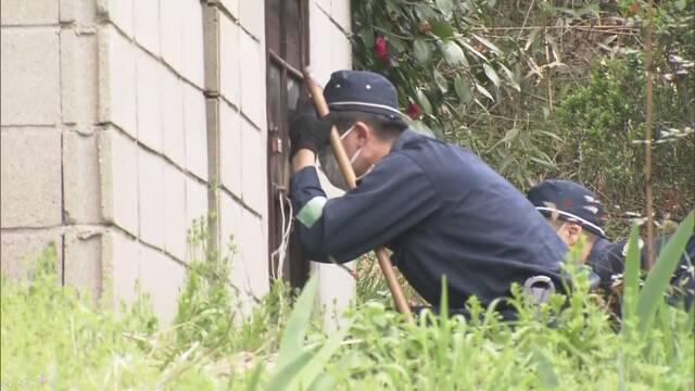 受刑者逃走 島で新たに衣類盗難 15日も1000人規模で捜索 | NHKニュース