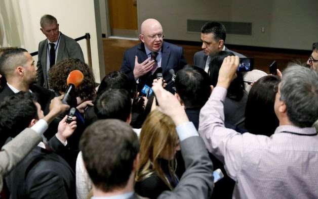 ロシア国連大使、米シリア攻撃なら「平和と安全の脅威」 (写真=ロイター) :日本経済新聞