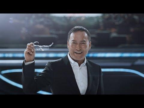 【ハズキルーペ 公式CM】渡辺謙さん・菊川怜さん 編 - YouTube