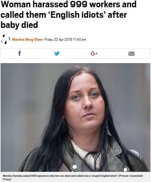 突然死で息子を失った母、999に100回以上の迷惑コールを続け逮捕される(英)