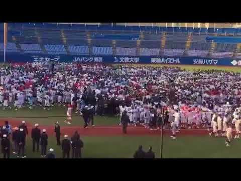 稲村亜美が理性のない野球男児に襲われる - YouTube