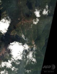 北朝鮮の核実験場がある山が崩落 中国大学の研究チームが確認