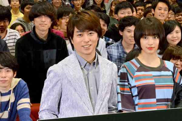 櫻井翔&広瀬すず、日大にサプライズ登場! 教授も「かっこよすぎ」   マイナビニュース
