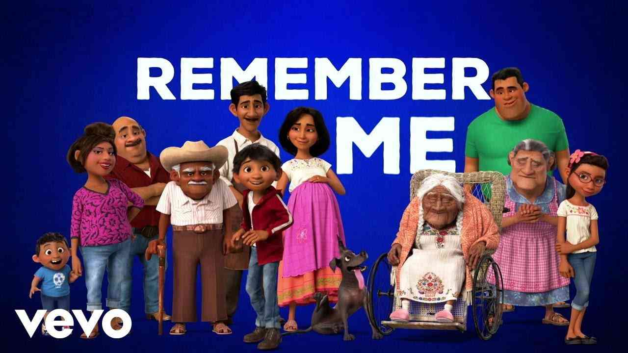 """Miguel - Remember Me (Dúo) (From """"Coco""""/Official Lyric Video) ft. Natalia Lafourcade - YouTube"""