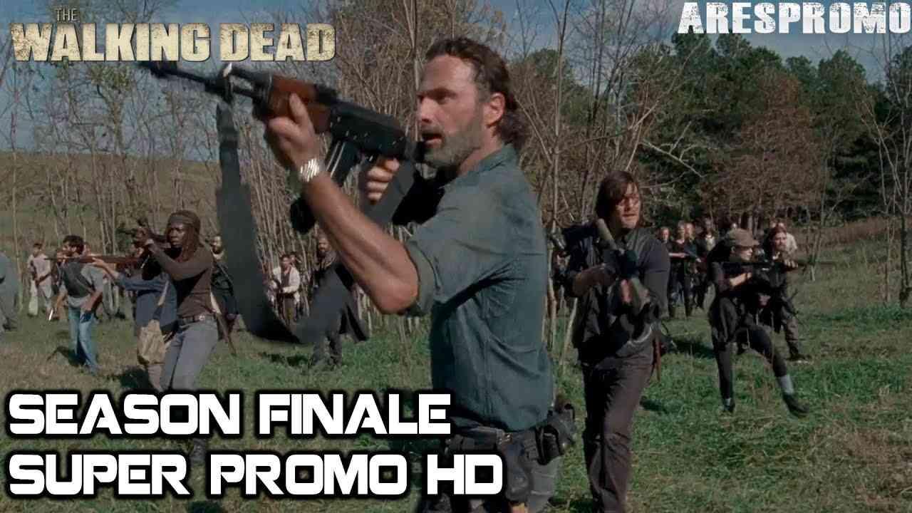 "The Walking Dead 8x16 Super Trailer Season 8 Episode 16 Promo/Preview HD Season Finale ""wrath"" - YouTube"